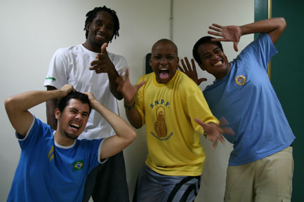 A new phase began in September when I began reading for a Bachelor of Arts in Journalism and Mass Communication at Ming Chuan University in Taipei. I live on campus and share a room with three other guys: form left, Junior from Brazil, Jabu from Swaziland, Peter from Kiribati and of course, me from St. Vincent and the Grenadines. And, if this photo is anything to judge by, I think I am in for a fun year.